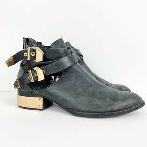 Vintage by Jeffrey Campbell Everly PL Cutout Boots